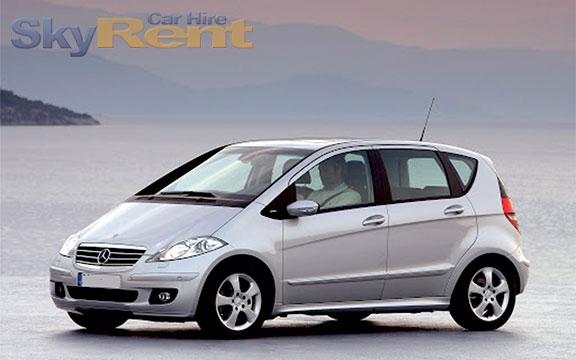 bulgaria car rental company mercedes w169