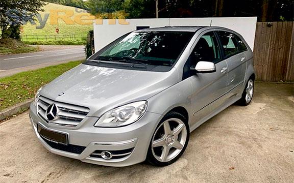 rent a car bulgaria mercedes b class