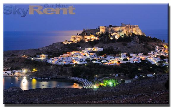 rent a car in lindos rhodes greece