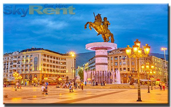 аренда авто в македонии