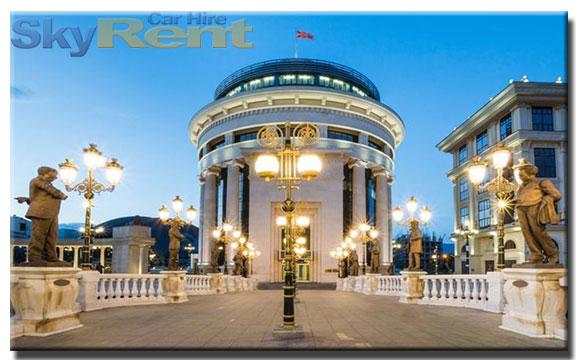 аренда машины северная македония
