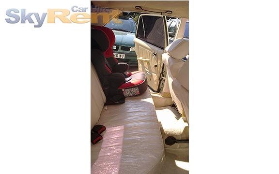 аренда автомобиля на золотых песках mercedes w123