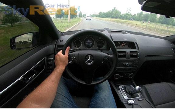 арендовать автомобиль в болгарии mercedes w204