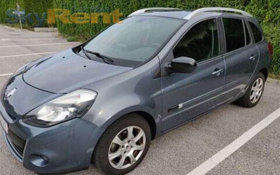 прокат автомобилей в болгарии renault clio grandtour