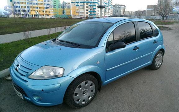 прокат машины болгария citroen c3