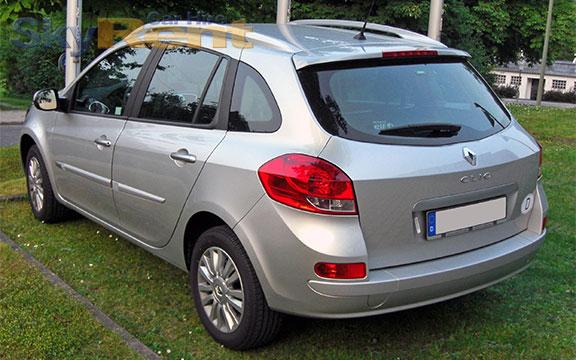 услуги по прокат автомобилей в болгарии renault clio grandtour