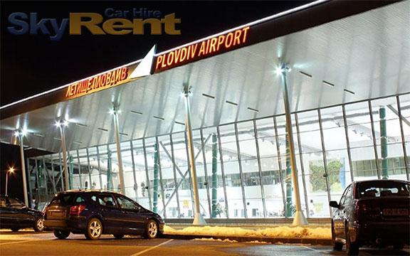 lotnisko płowdiw wynajem samochodów