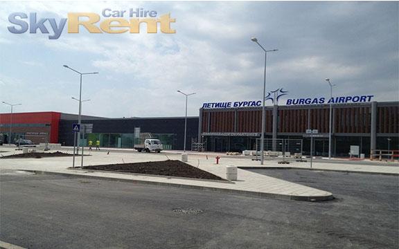 autopůjčovna na bulharském letišti v burgasu