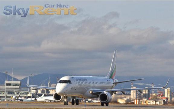 varna letiště autopůjčovna bulharsko