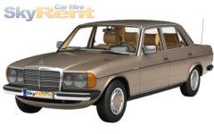 Mercedes-Benz Benz W123 1980 Retro