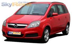 Opel Zafira B 7 seats